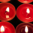 Video Stock: Colored Candlelight