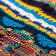 Colorful Sweater Knitting Texture — Stock Photo