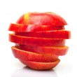 Red Sliced Apple — Stock Photo #13262941