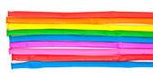 Inte uppblåst multicolor air ballonger — Stockfoto
