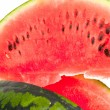 Stock Photo: Sliced ripe fresh watermelon