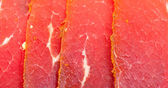 Slices of Smoked Meat — Stockfoto