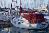 マリーナに係留されたヨット — ストック写真