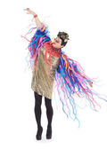 Módní vědomé drag queen — Stock fotografie