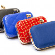 Stock Photo: Fashionable female handbags