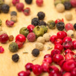Foto de Stock  : Dry multicolored peppercorn