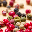 Stock Photo: Dry multicolored peppercorn