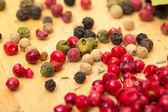 Dry multicolored peppercorn — Stock Photo
