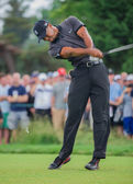 Tiger Woods at the 2013 US Open — Stock Photo