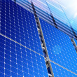 Solar industry - Stock Photo