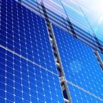 Solar industry — Stock Photo
