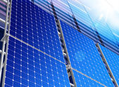 Solar industry — Stock Photo