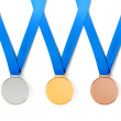 Medals with path — Stock Photo #13185704