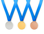 Medals with path — Stock Photo