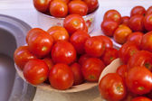 Tomates fraîches humides — Photo