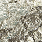Silver foil texture — Stock Photo