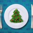 Festive salad - Stock Photo