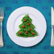 Royalty-Free Stock Photo: Festive salad