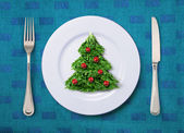 Festive salad — Stock Photo