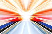 Technology light effect — Stock Photo