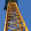 Stock Photo: Part of construction crane
