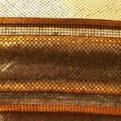 Golden marmor-stein-mosaik — Stockfoto