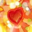 Background with red heart — Stock Photo #8626154
