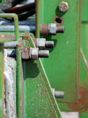 Detail of farm equipment — Stock Photo