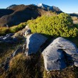 New Zealand mountain landscape — Stock Photo