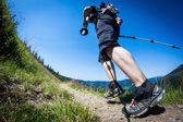 Trail Running — Stockfoto