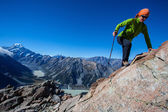 Mountaineering — Stock Photo