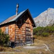 Alpine Hut — Stock Photo