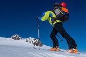 Skitouring Ascent — Foto Stock