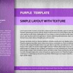 ������, ������: Purple template