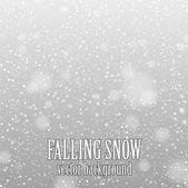 Падающий снег — Cтоковый вектор