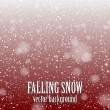 Falling snow — Stock Vector #35041145