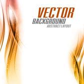 Orange Abstract — Stock Vector