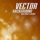 Orange Background — Stock Vector