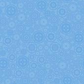 蓝色齿轮模式 — 图库矢量图片