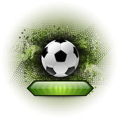 Soccer Abstract — Vector de stock