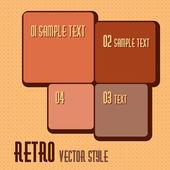 Retro — Stock Vector