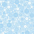 Seamless Cogwheel Pattern — Stock Vector #46574795