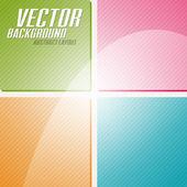 CMYK Squares — Stock Vector