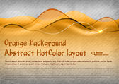 HotColor Background — Stock Vector