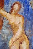 Banho - banho mulher — Foto Stock