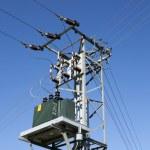 Power transformer — Stock Photo