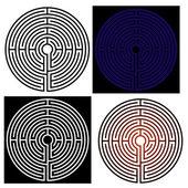 Maze - labyrinth — Stock Vector