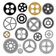 Vector gears cogwheels — Stock Vector #24242593
