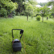 Mowing — Stock Photo