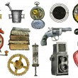Stock Photo: Various object - sign - icon